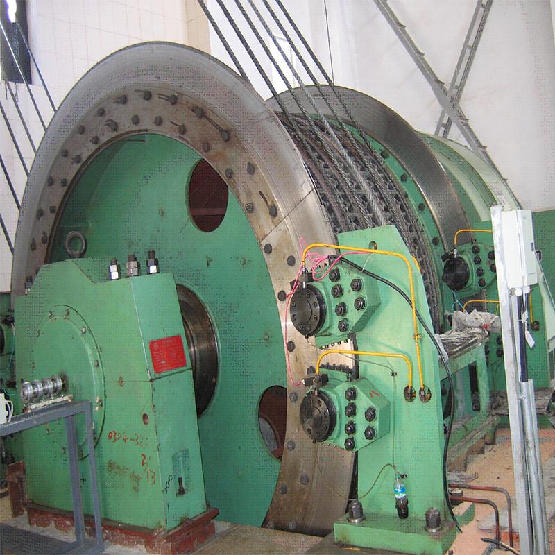 Multi-Rope Friction Mining Hoist