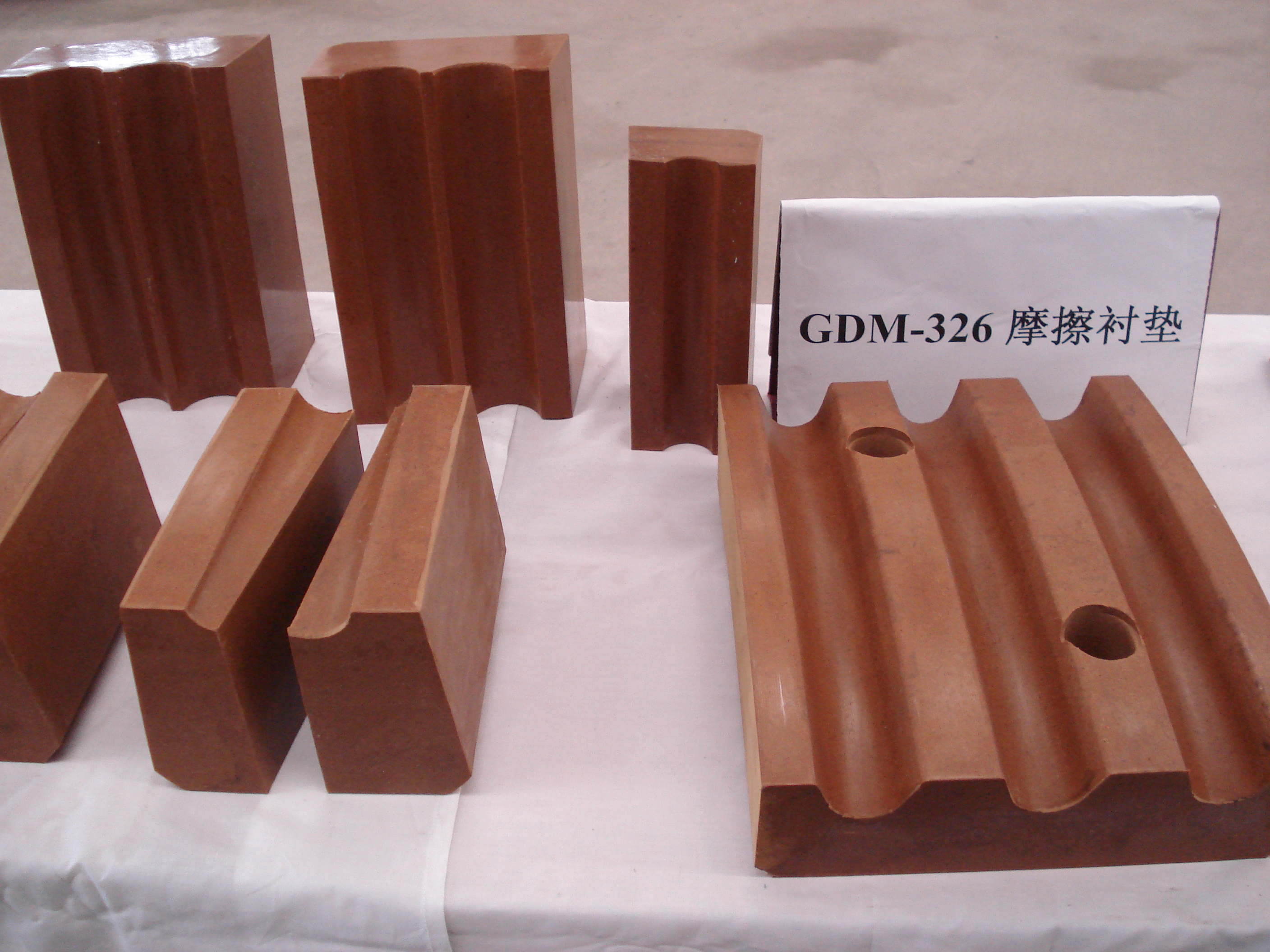 GDM326 Imported Materials High Performance Friction Gasket