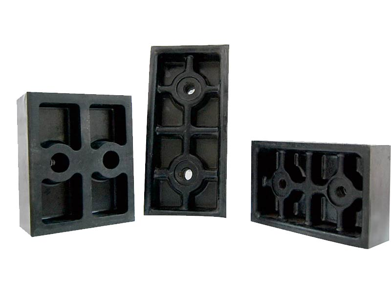 Multi-Rope Hoist Phenolic Aldehyde Press Block, Fixed Block