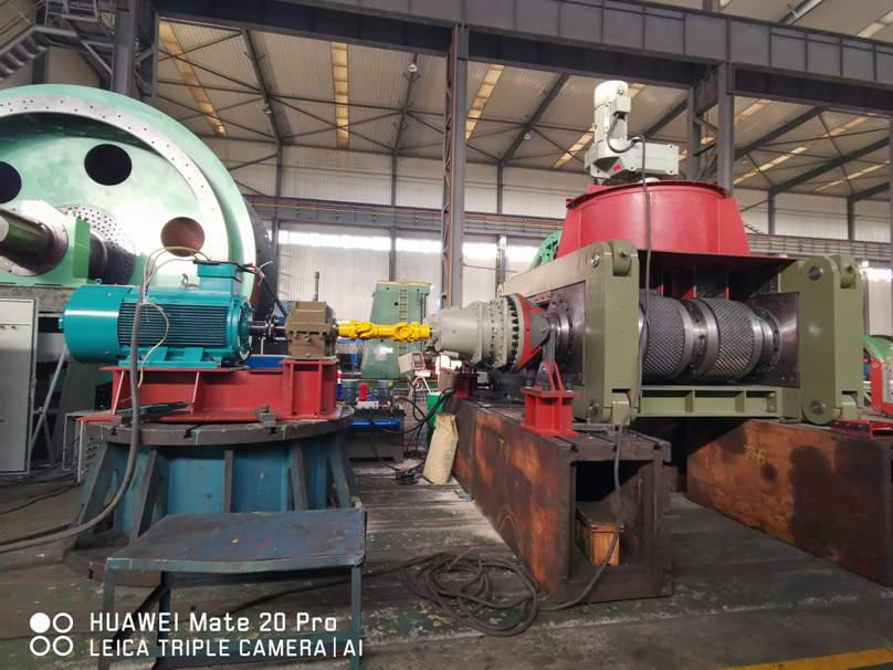 Xinyu Iron and steel ball press successful commissioning delivery site meeting